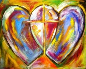 Hearts and Cross