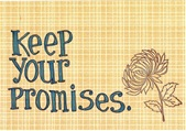 Keep your promises1